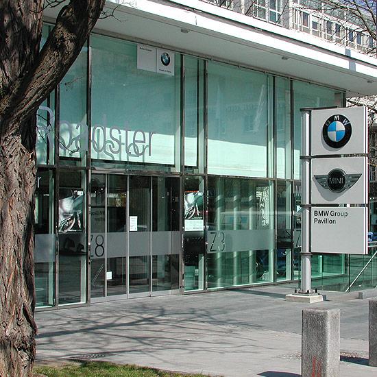 BMW Ausstellungspavillon Lenbachplatz München