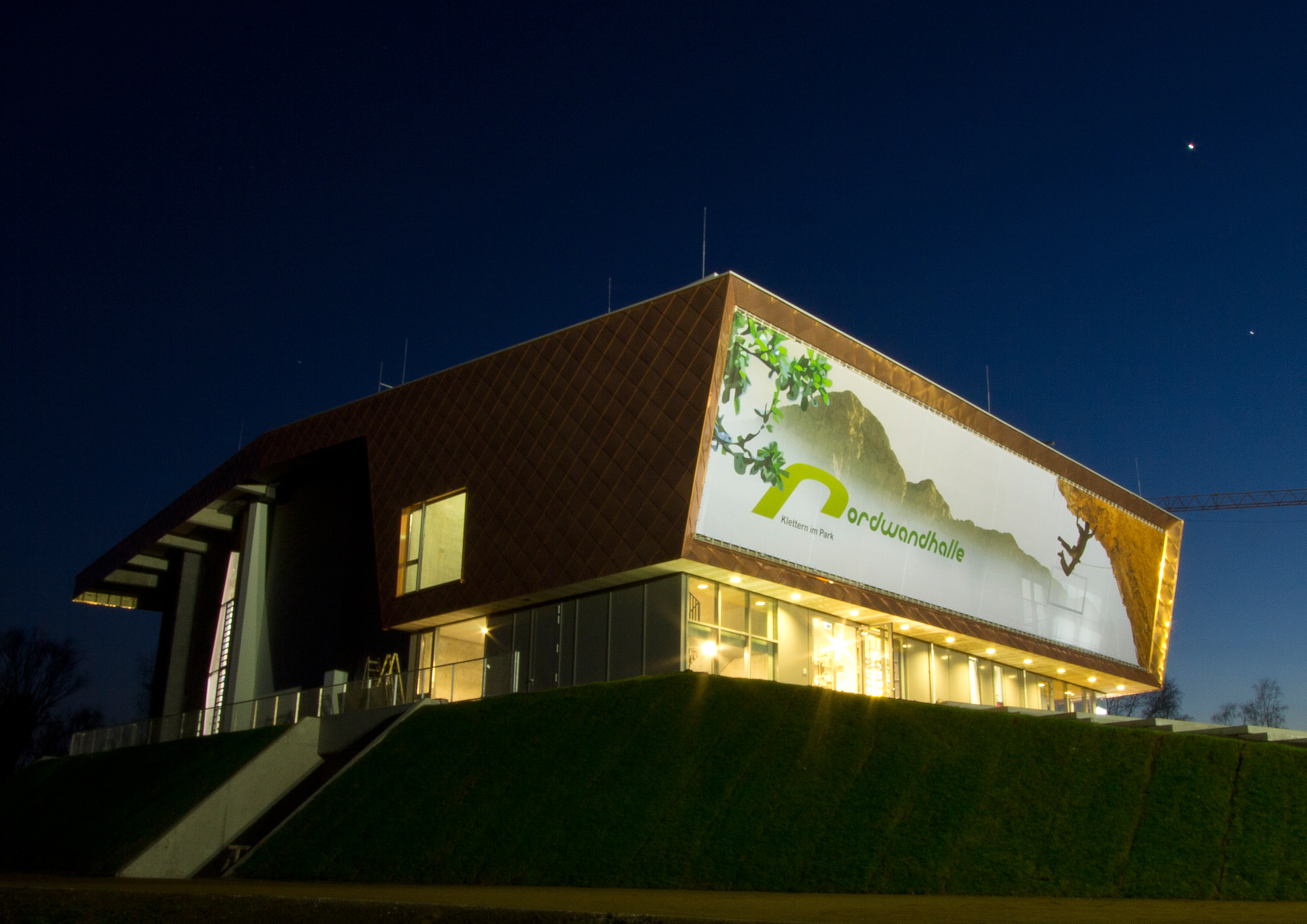 Ingenieurbüro Többen München - Kletterhalle Hamburg